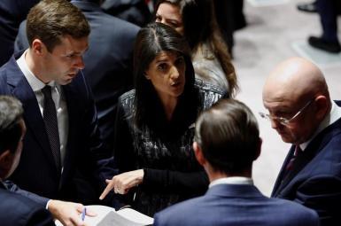 مشاجره لفظی نمایندگان آمریکا و روسیه در مورد سوریه پس از ضربالعجل ترامپ