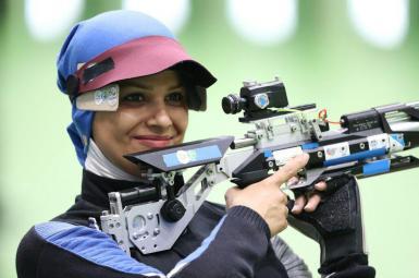 الهه احمدی در رقابتهای آزاد تفنگ، به طور غیررسمی رکورد قهرمان جهان را جابجا کرد.