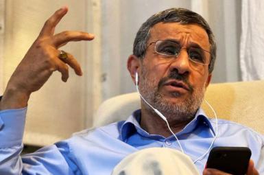 Iran's former President Mahmoud Ahmadinejad turned critic of the Islamic Republic. FILE