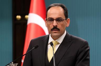 ابراهیم کالین سخنگوی رجب طیب اردوغان