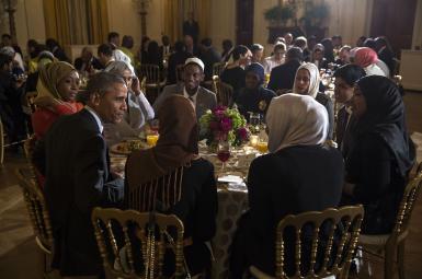 مراسم افطاری کاخ سفید در دورهی باراک اوباما