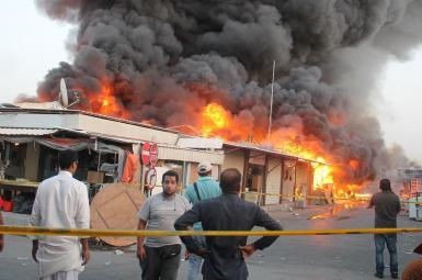 کشته شدن ۱۴ آواره عراقی در پی حمله انتحاری داعش به یک اردوگاه