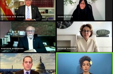 Online Discussion among Iran dissidents to boycott presidential vote. June 11, 2021