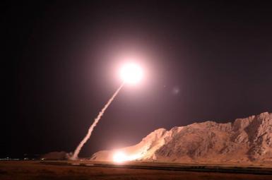 حمله موشکی سپاه به شرق فرات در سوریه