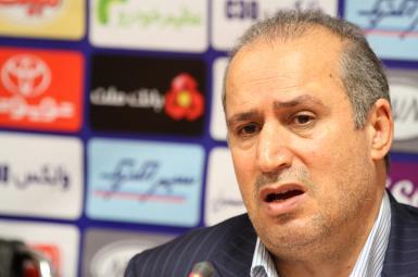 مهدی تاج، رئیس فدراسیون فوتبال جمهوری اسلامی ایران