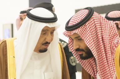 محمد بنسلمان و ملک سلمان بنعبدالعزیز