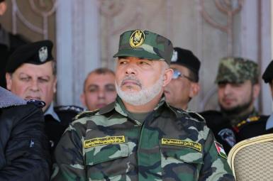 توفیق ابونعیم، رئیس نیروهای امنیتی وابستهبه جنبش «حماس» در غزه