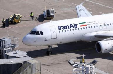 An Iran Air Airbus plane on tarmac. File photo