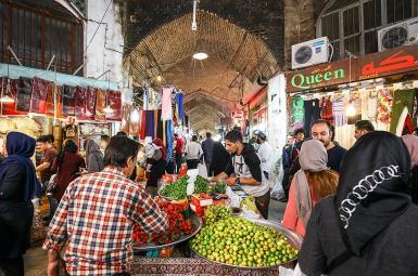 Isfahan's Bazaar in March 2018. FILE