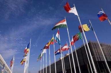 نشست وزرای خارجه بیست و هشت کشور عضو اتحادیه اروپا درباره توافق هستهای با ایران