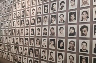 Some of the thousands of victims killed in Iranian prisons in 1988.