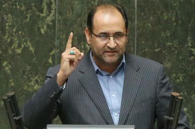 Jalil Rahimi Jahanabadi, hardliner Iranian lawmaker. FILE PHOTO
