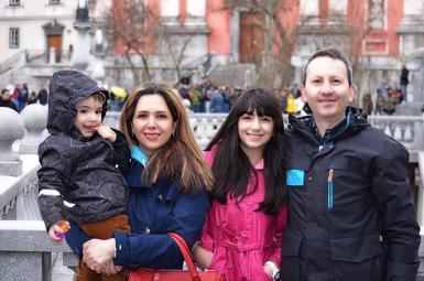 خانواده احمدرضا جلالی، پزشک و دانشمند ایرانی محکوم به اعدام