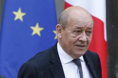 وزیر خارجه فرانسه ژان- ایو لودریان