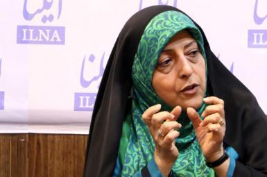 معصومه ابتکار، رئیس سازمان حفاظت از محیط زیست ایران