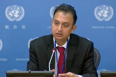 Javaid Rehman, UN Special Rapporteur on Human Rights in Iran. FILE