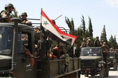 ارتش دولتی سوریه در نزدیکی دیرالزور