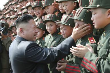 کودکان کرهشمالی