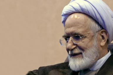 Former top official and current opposition leader Mehdi Karroubi. File