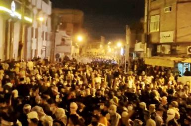 Protests in Iran's Khuzestan Province. July 19, 2021