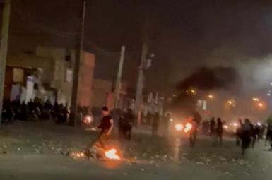 Protests in Khuzestan continued for the sixth consecutive night. July 20, 2021