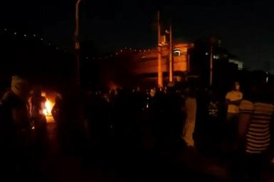 Images of protests in Iran's Khuzestan amid extensive blackouts. July 23, 2021