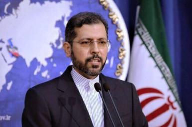 Saedd Khatibzadeh, spokesman of Iran's foreign ministry. FILE