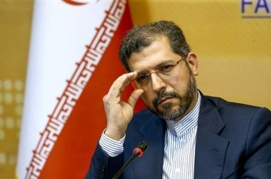 Saeed Khatibzadeh, spokesman of Iran's foreign ministry. December 30, 2020