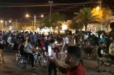 Anti-government protests in Khuzestan. July 20, 2021