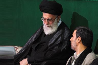 نامه احمدینژاد به رهبر ایران