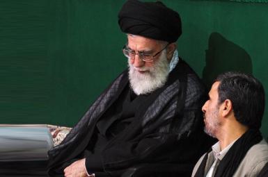محمود احمدی نژاد و خامنه ای