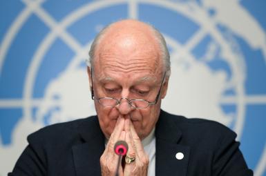 استفان دیمیستورا، فرستادهی ویژهی سازمانملل در امور سوریه