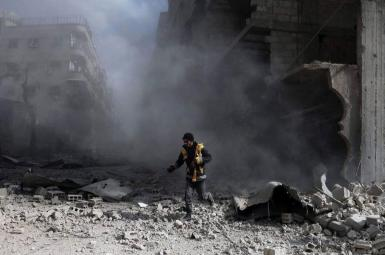 ادامه بمباران غوطهشرقی، ساعاتی پیش از رأیگیری شورای امنیت