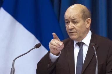 «ژان ایو لودریان» وزیر امورخارجه فرانسه