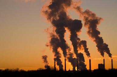 آلودگی صنعتی و ورود گاز کربنیک به اتمسفر