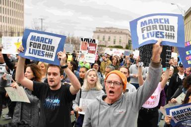 تظاهرات موسوم به «راهپیمایی برای زندگیهایمان» در آمریکا