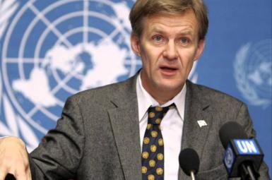 «جان اگلند» مشاور ویژه فرستاده سازمان ملل در امور سوریه