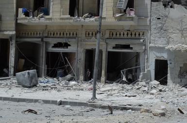 بمباران هوایی روسیه در ادلب