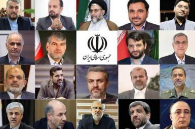 Iran's President Ebrahim Raisi's proposed ministers. FILE