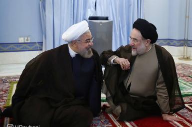 محمد خاتمی و حسن روحانی
