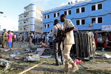 انفجار خودروی بمبگذاریشده در سومالی