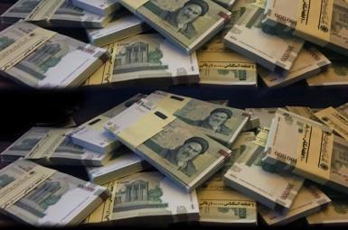 Iranian banknotes. FILE