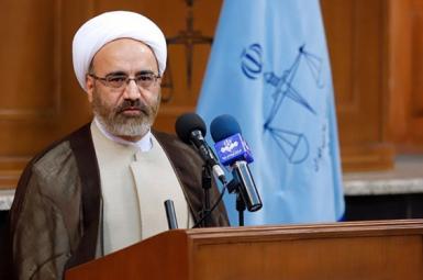 Mohammad Mossadegh Kahnemoui, Iran's deputy chief justice. FILE