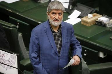 Ali Motahari, an outspoken three-term former lawmaker in Iran. FILE