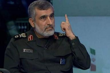 Amir-Ali Hajizadeh, commander of IRGC Aerospace Force. File