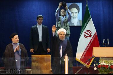 حسن روحانی در همایش انتخاباتی زنجان