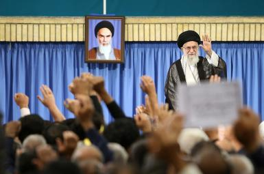 آیتالله علی خامنهای، رهبر جمهوری اسلامی