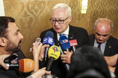 سرگئی ریابکوف، معاون وزیر امور خارجهی روسیه