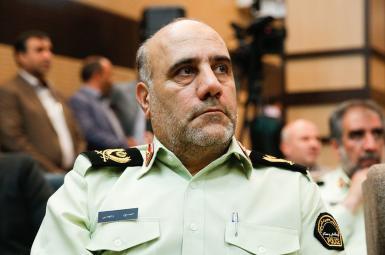 حسین رحیمی رئیس پلیس تهران