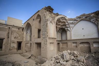 تخریب خانه تاریخی«نائل» اصفهان توسط افراد ناشناس